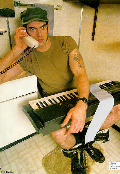Think, that Peter steele nude